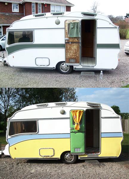 Gracie Fields Vintage Caravan
