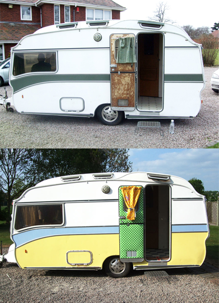 Gracie Fields Vintage Caravan