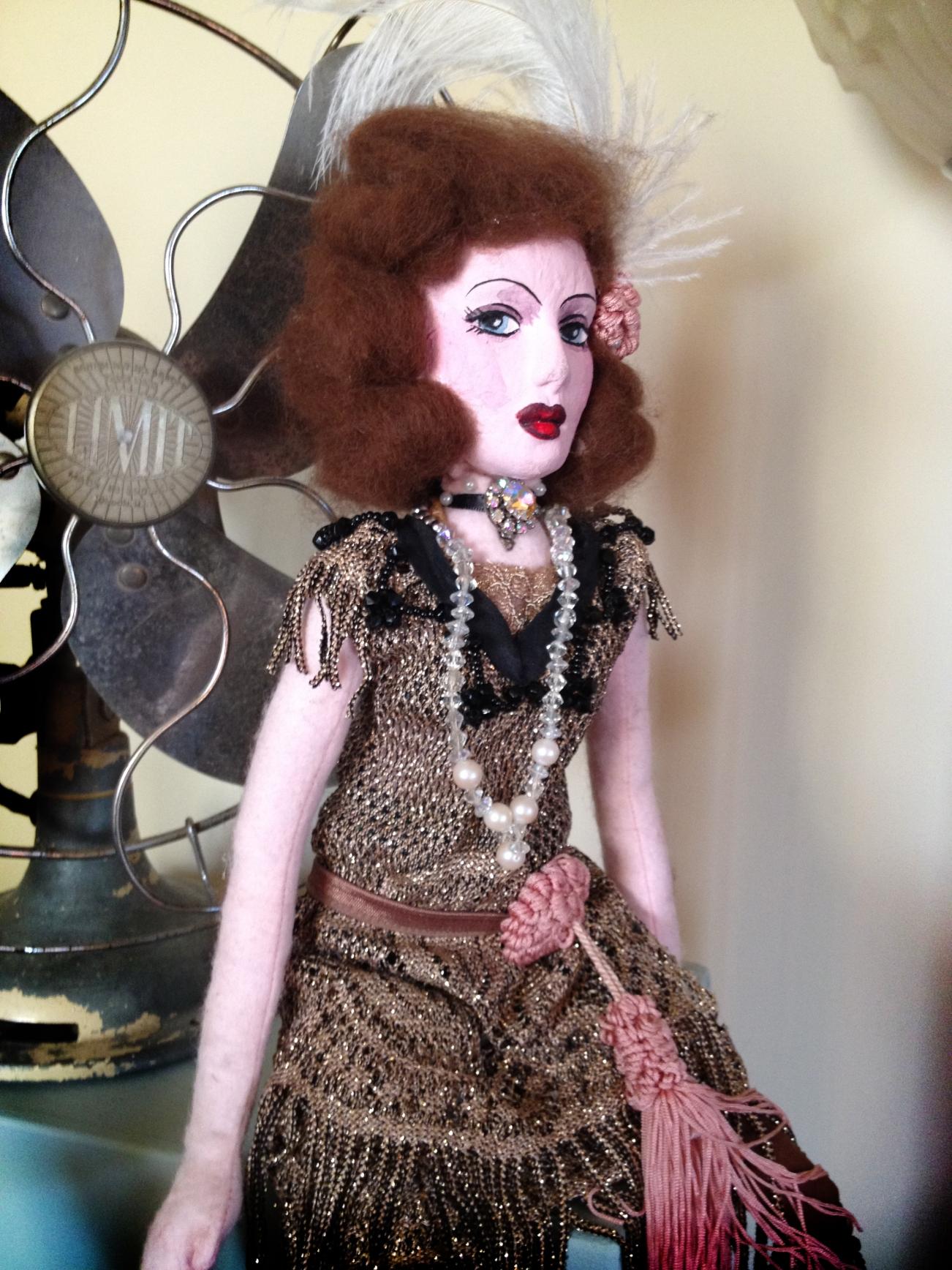 kitten von mew flapper boudoir doll