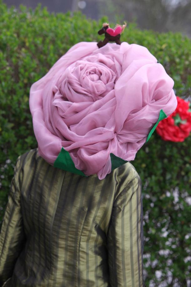 rose hat by kitten von mew