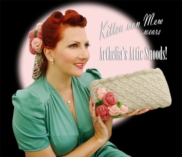 arthelias attic hair snood kitten von mew
