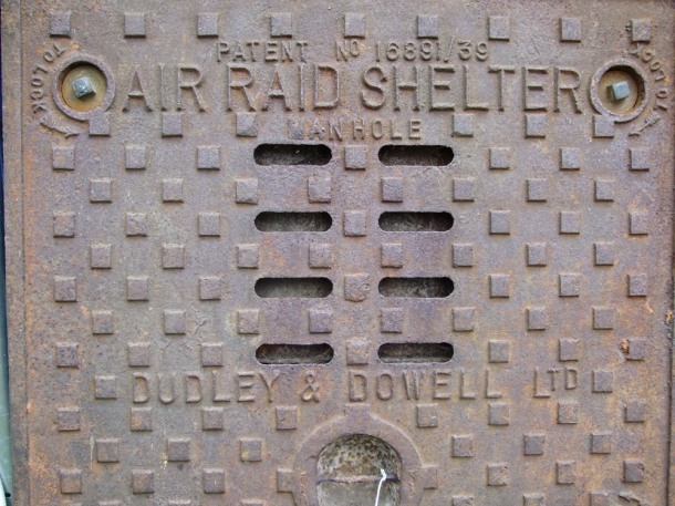 Air Raid Shelter Manhole Cover