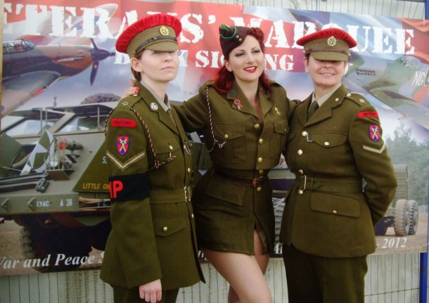 WW2 ATS Girls and Pinup