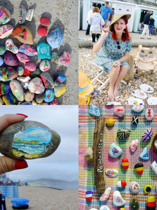 lyme-regis-painted-beach-stones