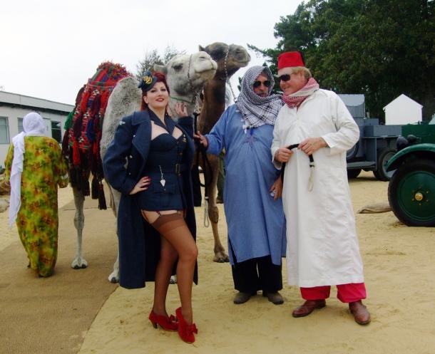 Goodwood Revival Camels