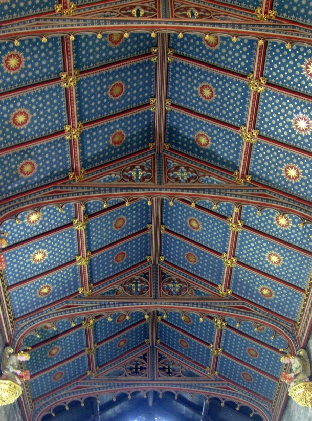 Alton Towers Chapel Ceiling by Kitten von Mew