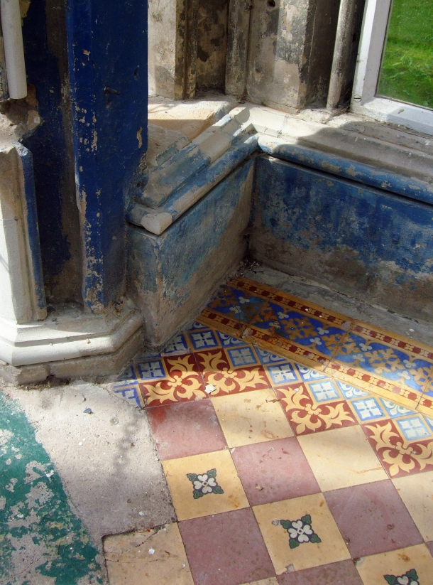 Original Flooring, taken by Kitten von Mew