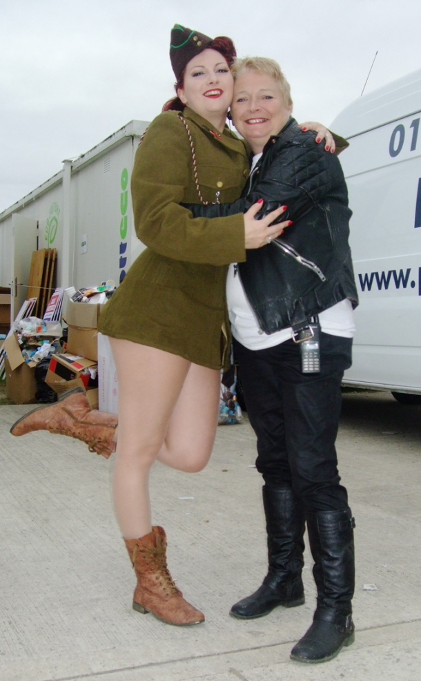 Kitten von Mew and Sue O Donoghue at Goodwood Revival 2012