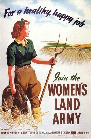 Womens Land Army Poster
