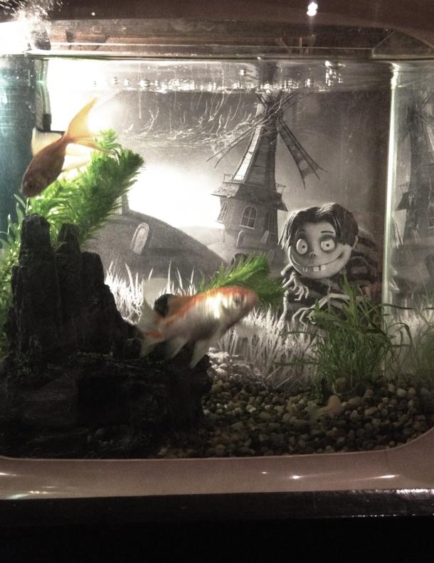 Halloween Fish Tank