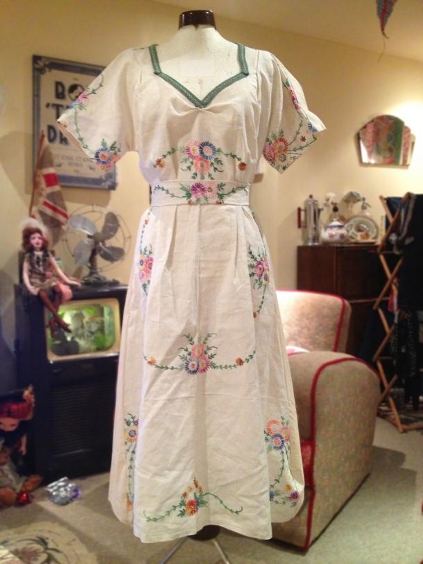 WWII House Dress