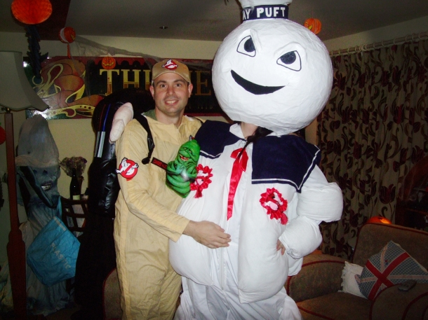 Stay Puft and Ghostbuster
