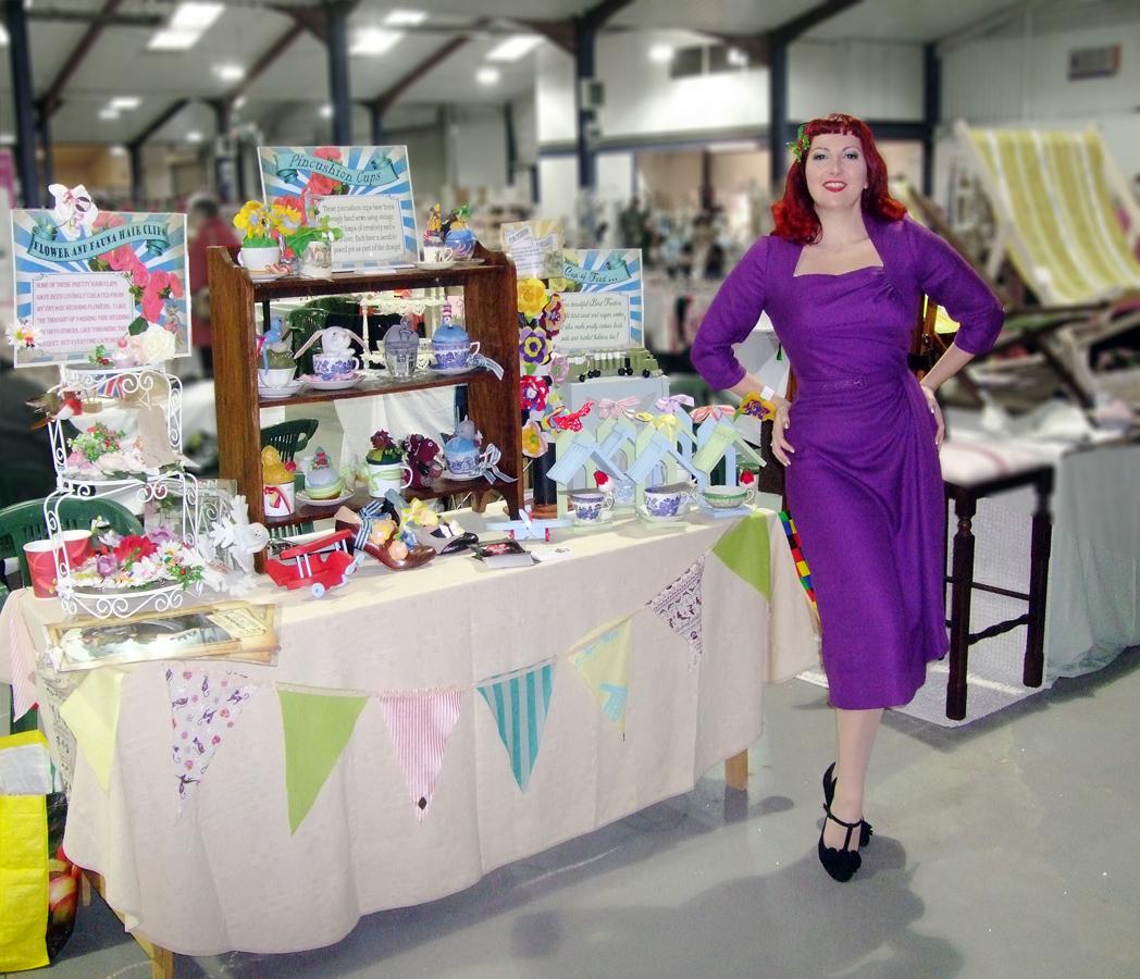Wedding Exhibition Stall : Kitten von mew crafts stall s pin up entertainer