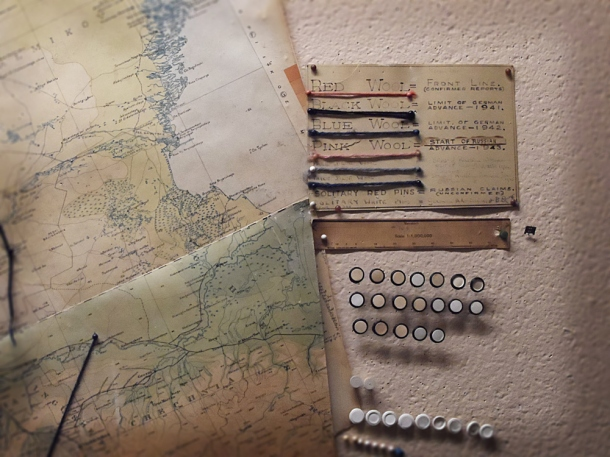 the cabinet war rooms ww2 maps
