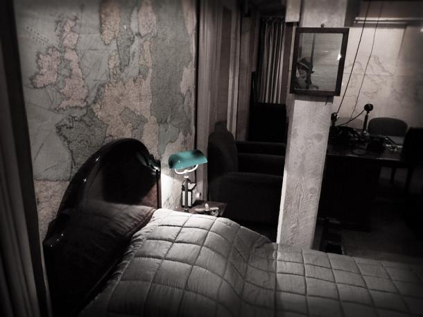winston churchills bedroom