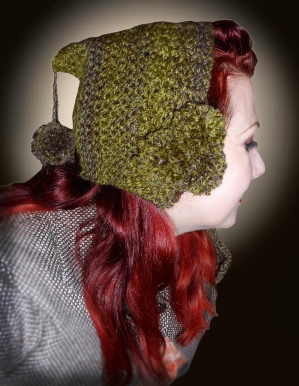 1940s pixie hat