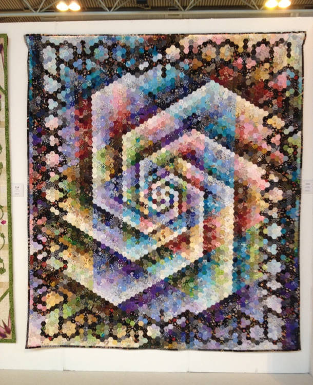 hexagonal quilt