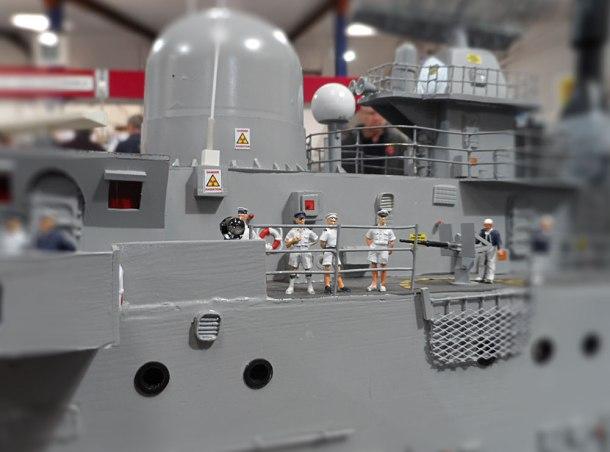 military model ship