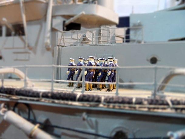 model navy ship