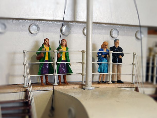 scale model people