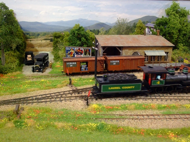 american railway set