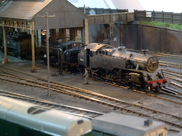 engine shed miniature railway