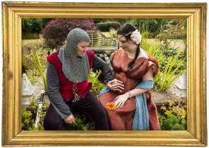 medieval maternity photos