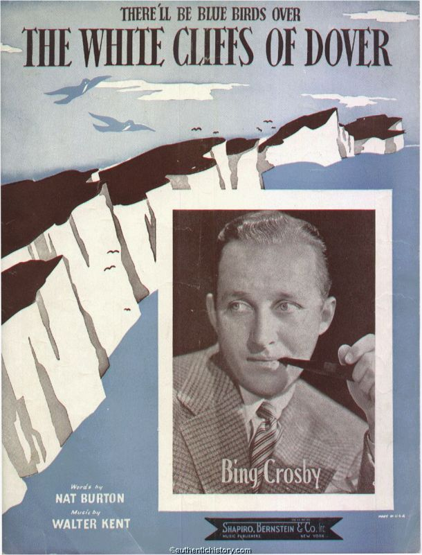 White Cliffs of Dover Sheet music