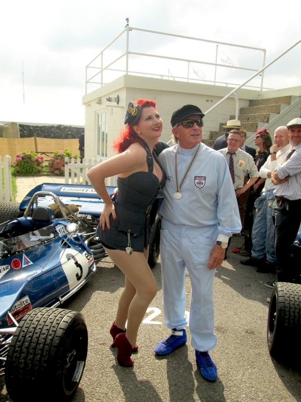 jackie stewart goodwood revival 2014