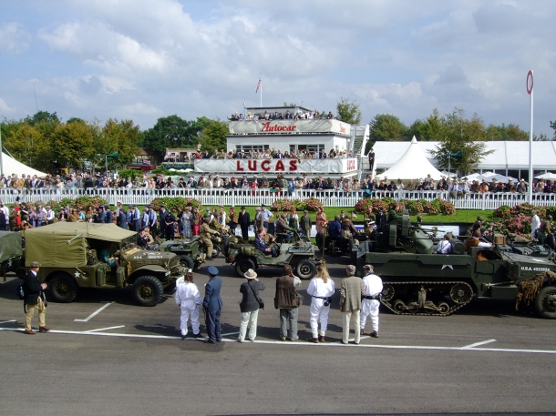 ww2 vehicles goodwood revival 2014