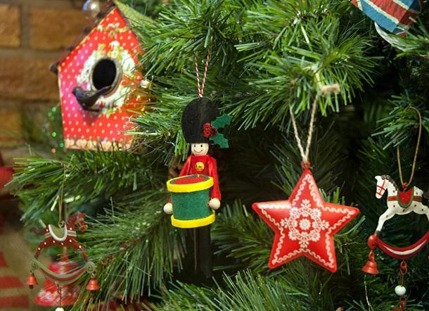clothes peg christmas decorations