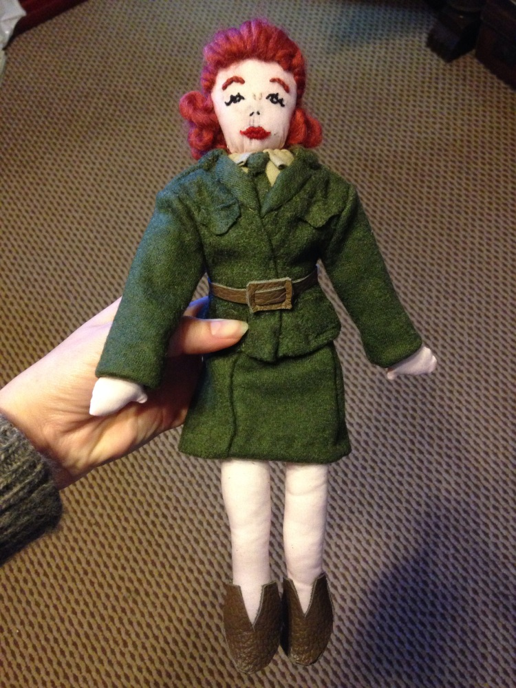WW2 Doll Pattern (2/4)
