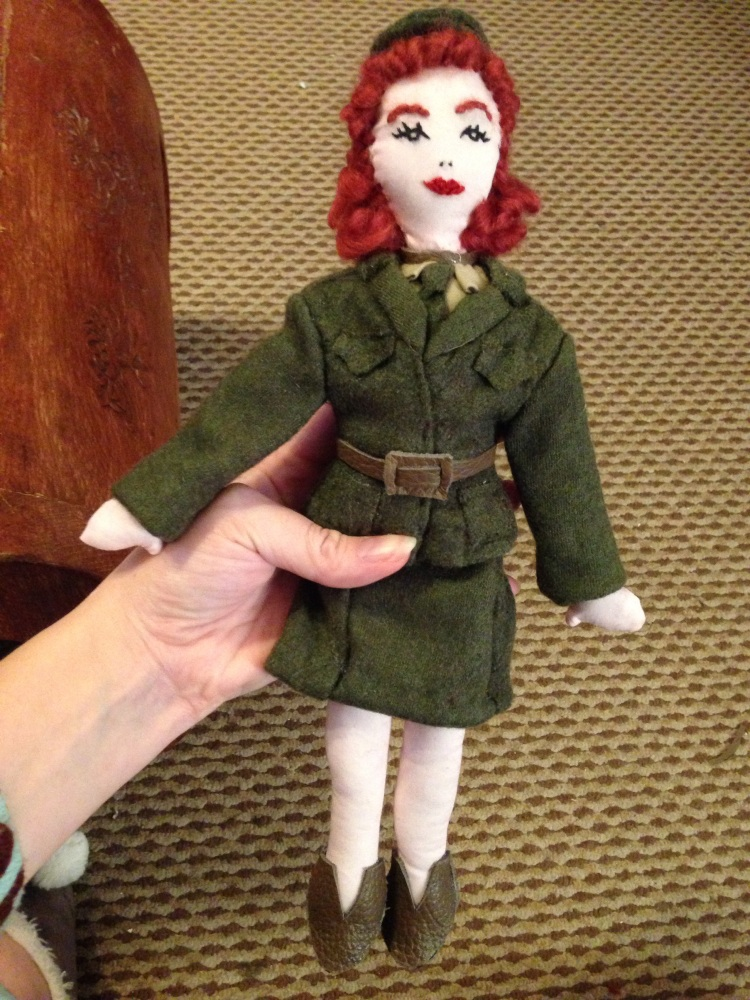 WW2 Doll Pattern (3/4)