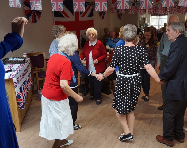 VE Day 2015 Yates Court Care Home