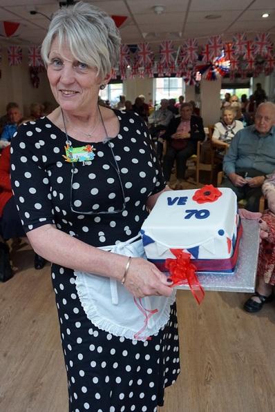 VE Day Cake