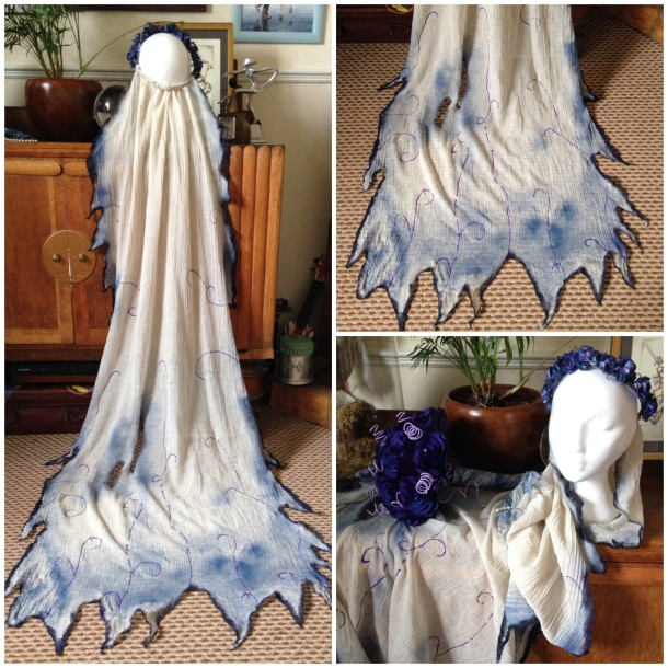 Corpse Bride Wedding Veil