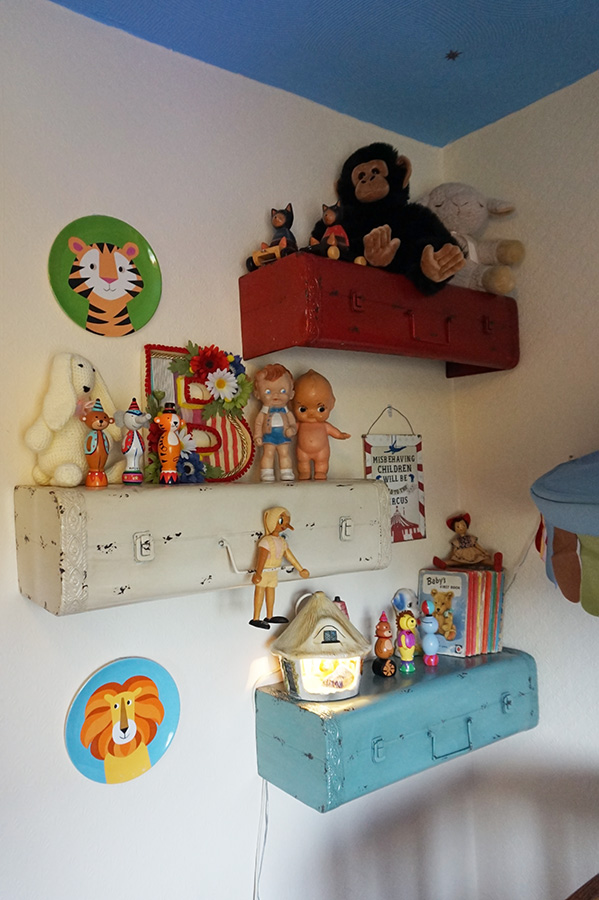 Vintage Baby Bedroom