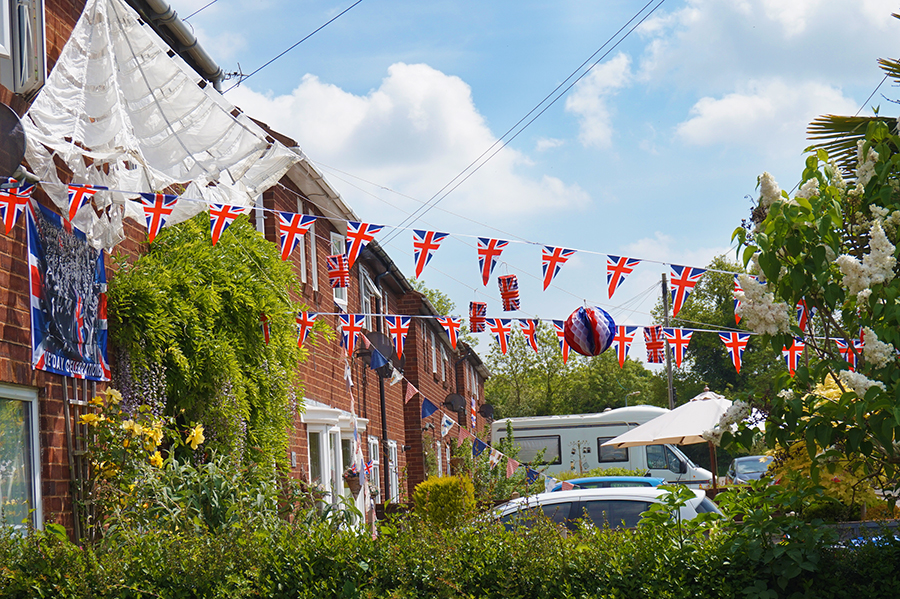 007 ve day - Bunting web